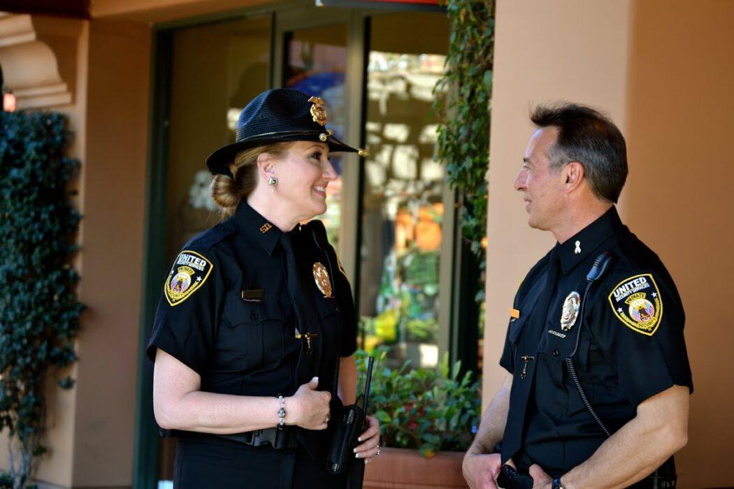 Officer Hammand _ Officer Reynolds On Site together